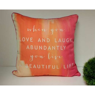 Coussin Love And Lauge