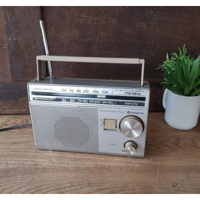 Radio Am FM vintage Hitachi KH-437HC