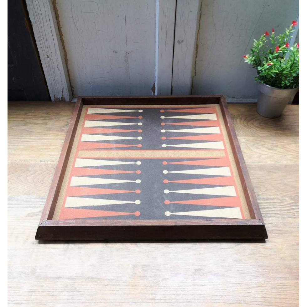 Jeu plateau backgammon