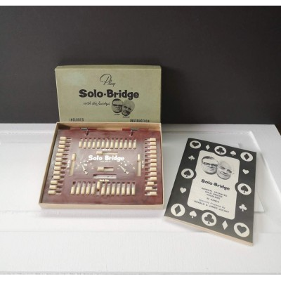 Jeu Solo- Bridge vintage 1968