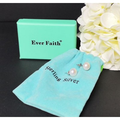 Boucles d'oreilles Ever Faith perles d'eau douce
