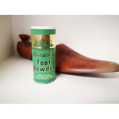 British Army foot powder vintage