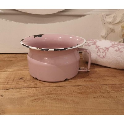 Pot rose vintage apprentissage enfant (pipi pot)