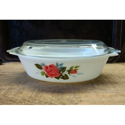 Casserole Cottage Rose England *