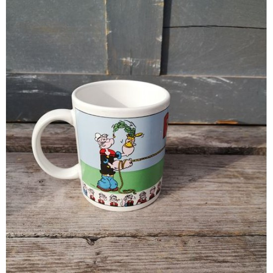 Tasse Popeye cartoon céramique