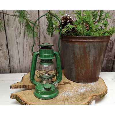 Lanterne verte vintage Winged Wheel du Japon