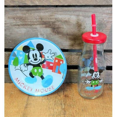 Mickey Mouse  set snack 3 morceaux