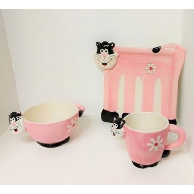 Chaton porcelaine rose (3mcx)