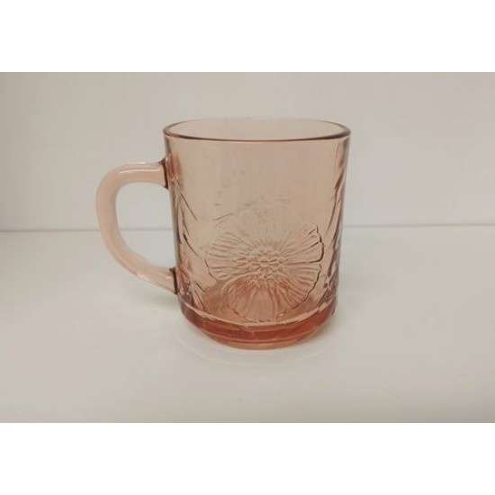 Tasse coquelicot rose ambré King Indonesia