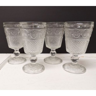 Verres ornés King Indonesia 4 mcx,