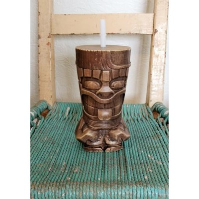 Tiki grand verre thermo plastique