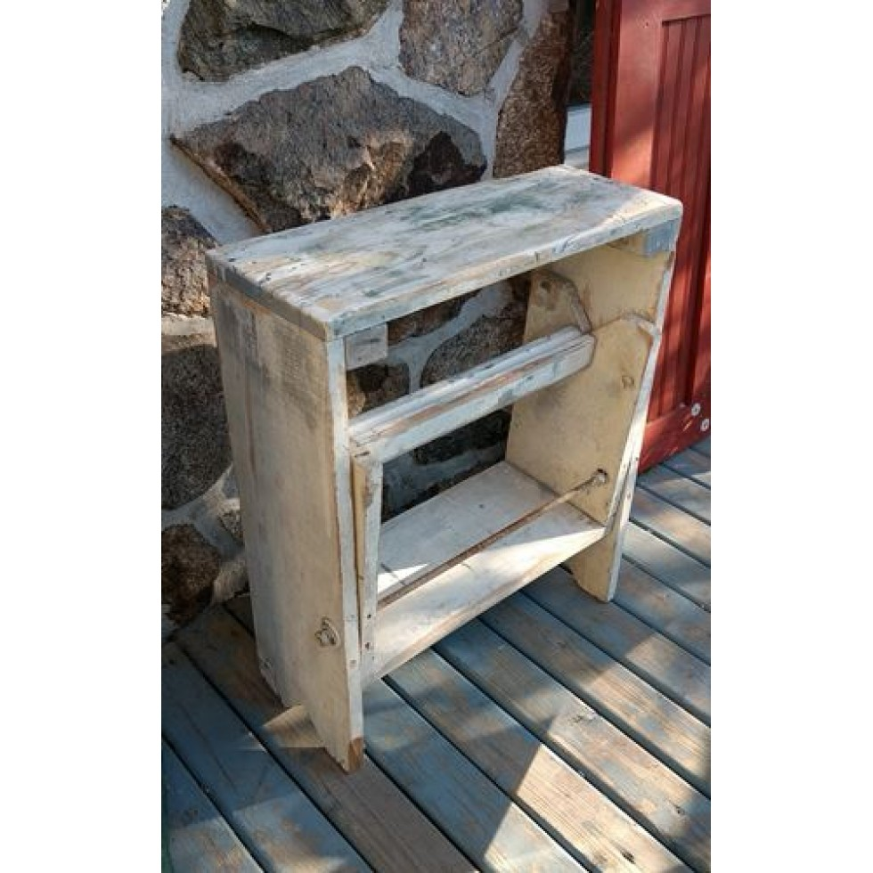 banc step de menuisier en bois solide marche r tractable. Black Bedroom Furniture Sets. Home Design Ideas