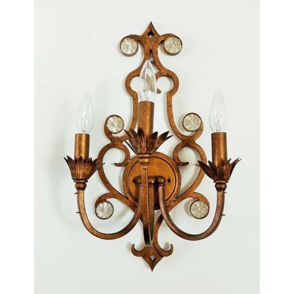 luminaire mural harmonie de style baroque. Black Bedroom Furniture Sets. Home Design Ideas